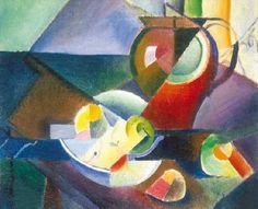 SZOBOTKA Imre: Still-life, 1913