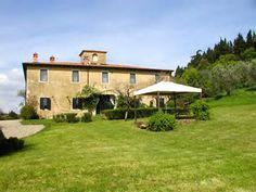 Tuscan Luxury Villa Rental sleeps 12 pax with Outdoor Pool facility