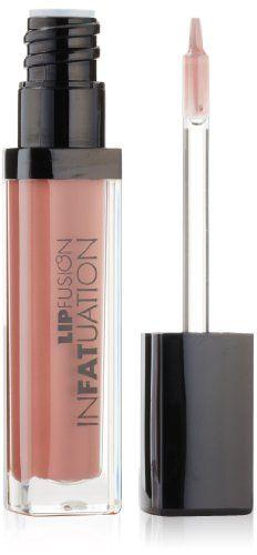 FusionBeauty LipFusion Infatuation Liquid Shine Multi-Action Lip Fattener, Big and Bare