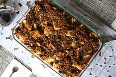 make-ahead french toast casserole