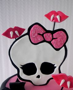 Monster High Cake Topper 100% Edible by SweetCakeByAnastasia