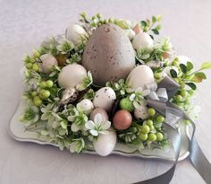 Easter 2020, Centerpieces, Table Decorations, Deco Floral, Easter Eggs, Spring, Flowers, Christmas, Diy