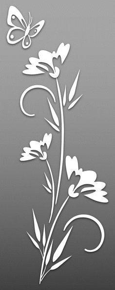 Flower – Cut Outs – Art & Islamic Graphics Stencil Patterns, Stencil Art, Stencil Designs, Flower Stencils, Stenciling, Metal Art, Wood Art, Cnc Cutting Design, Cut Out Art