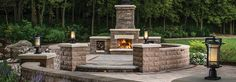 Outdoor Fireplace Kits, Brick Ovens & Paver Fireplaces