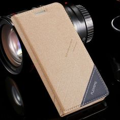 FLOVEME Flip Leather Case for Samsung Galaxy S5 S6 S7 Edge Luxury Stand Card Holder Phone Cover for iPhone 6 6S 5 5S SE 7 Plus