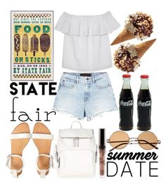 """""""Summer Date: The State Fair (2)"""" by estefanifashion on Polyvore featuring Accessorize, Olive + Oak and Alexander Wang"""