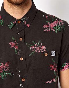 The Critical Slide Society Shirt Short Sleeve Floral Print