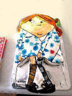 Edible books: Inspired by Pippi Longstocking by Astrid Lindgren