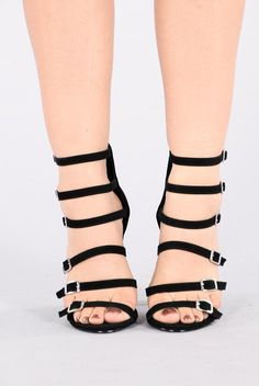Too Busy Heel - Black