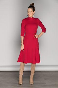 Piese vestimentare pe care trebuie sa le achizitionezi la reduceri Office Wear, High Neck Dress, How To Wear, Shopping, Dresses, Fashion, Turtleneck Dress, Vestidos, Moda