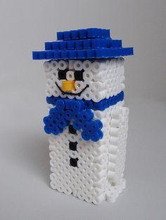 Snow Man hama beads