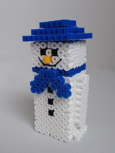 Snow Man.....are these melty beads?