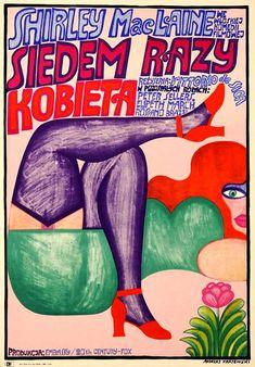Andrzej KRAJEWSKI: Siedem razy kobieta, 1968