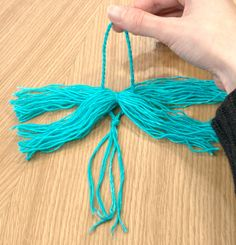 Make a Yarn Tassel Looking for a new technique to help spice up a finished object? Why not try making a tassel? Tassels are.Looking for a new technique to help spice up a finished object? Why not try making a tassel? Tassels are. Pom Pom Crafts, Yarn Crafts, Sewing Crafts, Diy And Crafts, Decor Crafts, Diy Tassel, Tassel Jewelry, Crochet Stitches, Knit Crochet
