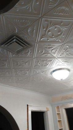 Ceiling Tile Design Project Pictures Decorative Tiles Mobile Home Renovations Den Ideas