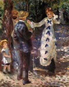 Pierre-Auguste Renoir - A.Renoir / La balancoire 1876