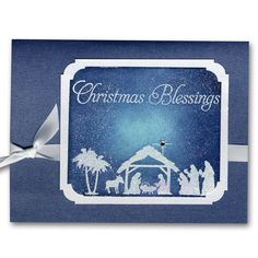 Holiday Card 48 Nativity Christmas Blessings