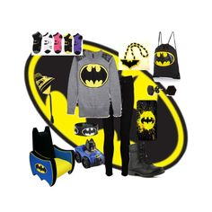 """""""Batman Outfit"""" by vampwriter on Polyvore"""