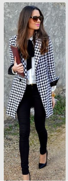 Hounds tooth jacket