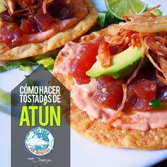 Aquí te damos la receta para unas ricas tostadas de atún:  https://www.facebook.com/hoytocan/photos/a.1036004696417036.1073741828.1028646237152882/1158214047529433/?type=1&theater