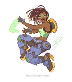Lucia | Overwatch Rule 63 Lucio