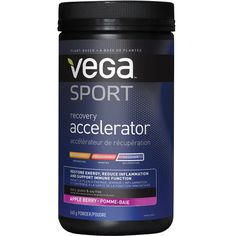 Vega Sport Accelerator! Best Post Workout Drink, Workout Drinks, Whole Grain Brown Rice, L Arginine, Turmeric, How To Lose Weight Fast, Recovery, Plant Based, Berries