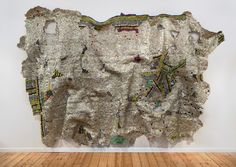 El Anatsui, 'Timespace,' 2014, October Gallery