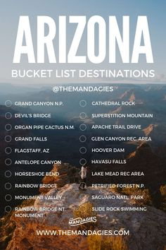 Arizona Bucket List - Discover the best things to do in Arizona and have the most adventurous year yet! AZ Bucket List bucket list 15 Jaw-Dropping Hikes In Sedona To Make You Want To Move To The Desert - The Mandagies Arizona Road Trip, Arizona Travel, Sedona Arizona, Hiking In Arizona, Oro Valley Arizona, Tempe Arizona, Oregon Road Trip, Scottsdale Arizona, Phoenix Arizona