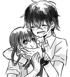 Tonari no kaibutsu-kun | My little monster~ pin em We Heart It.