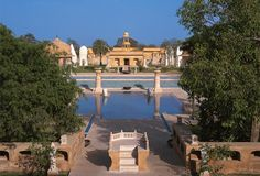 Jaipur, India - Oberoi Rajvilas Pool