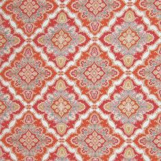 Spice by Greenhouse Greenhouse Fabrics, Red Design, Outdoor Settings, Outdoor Fabric, Vibrant Colors, Pattern Design, Swatch, How To Memorize Things, Spices