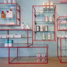 Pharmacy Design   Retail Design   Store Design   Pharmacy Shelving   Pharmacy Furniture   De los Austrias Chemist by Stone Designs