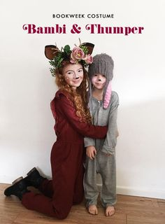 Bookweek Costume - Bambi & Thumper. My Messy Room - Blogtown.