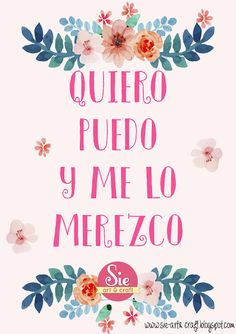 Sie - Art & Craft: ♥be happy Cool Words, Wise Words, More Than Words, Spanish Quotes, Positive Quotes, Positive Phrases, Me Quotes, Arts And Crafts, Inspirational Quotes