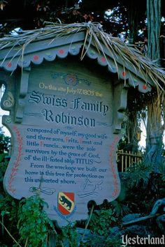 Swiss Family Treehouse, Disneyland, this was what I played in as a child. Now it's Tarzan's Treehouse.
