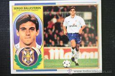 Cromo Sergio Ballesteros Tenerife Album Ediciones Este Liga 96-97