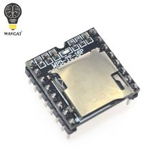 1.3$  Watch here - Mini MP3 Player Module TF Card U Disk Mini MP3 Player Audio Voice Module Board For Arduino DF Play Wholesale   #buyininternet