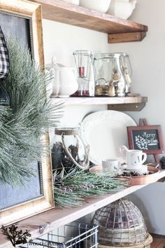 Christmas Dining Room Decorating with Kirkland's Decor The Halls - The Wood Grain Cottage