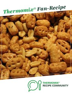 Recipe Nuts and Bolts by learn to make this recipe easily in your kitchen machine and discover other Thermomix recipes in Starters. Xmas Hampers, Hamper Ideas, 5 Recipe, Onion Soup Mix, Recipe Community, Easy Peasy, Starters, Finger Foods, New Recipes