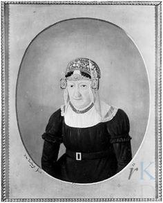 Jacobus de Ruyt Portret van Catharina van Foreest (1763 - Alkmaar 1837), 1827 #NoordHolland #WestFriesland