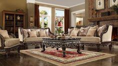 Hd 1631 Homey Design Upholstery Living Room Set Victorian Custom Homey Design Living Room Sets Inspiration