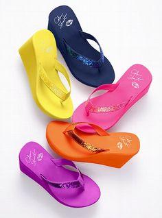 Colin Stuart Glitter Wedge Flip-flop #VictoriasSecret http://www.victoriassecret.com/shoes/view-all/glitter-wedge-flip-flop-colin-stuart?ProductID=14180=OLS?cm_mmc=pinterest-_-product-_-x-_-x