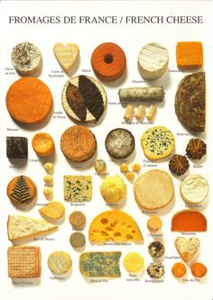 "Ma vie á Paris: ""How can anyone govern a nation that has two hundred and forty-six different kinds of cheese? Butter Cheese, Wine Cheese, Cheese Food, Cheese Party, How To Make Cheese, Food To Make, Charcuterie And Cheese Board, Cheese Boards, Cheese Gifts"