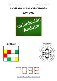 Programa Altas Capacidades Orientación Andújar