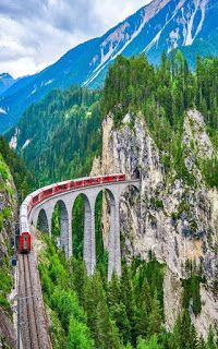 Train or Bus - Fairy Queen Travel Natur Wallpaper, Beautiful Places To Travel, Jolie Photo, Train Tracks, Nature Pictures, Places Around The World, Beautiful Landscapes, Wonders Of The World, Adventure Travel