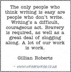 Quotable - Gillian Roberts