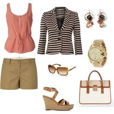 Summer Travels Outfit, created by adrianaclare.polyvore.com