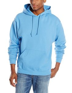 Jerzees Men's Adult Pullover Hooded Sweatshirt