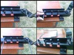 dobladora de hierros estribera manual