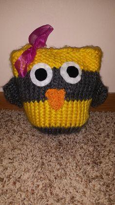 Owl I made for Nora